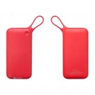 Аккумулятор Baseus Powerful QC3.0 Dual Input Power Bank 20000mAh красный