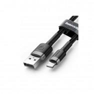 Кабель Baseus Cafule special edition USB - Lightning (CALKLF) 2 м - черный