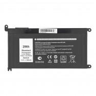 Аккумулятор WDX0R для Dell - 2600mah
