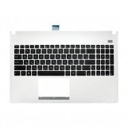 Топ-панель с клавиатурой для Asus X501A белая