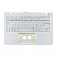 Топ-панель с клавиатурой для Asus X200 белая