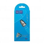Адаптер, переходник USB Type-C - USB 3.0, UA9 HOCO - серебристый