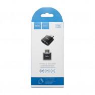 Адаптер, переходник USB Type-C - USB, UA5 HOCO - черный