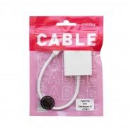 Адаптер - переходник mini Displayport (M) - HDMI (F) A132 Smartbuy белый