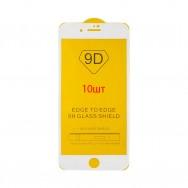 Защитное стекло iPhone 7 Plus / iPhone 8 Plus - белое (упаковка 10 штук)